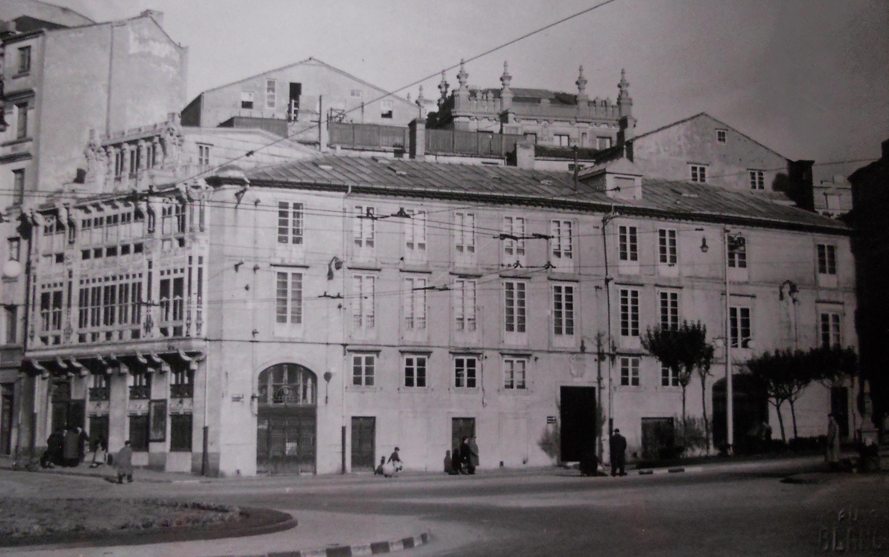 Sede La Voz de Galicia en Puerta Real