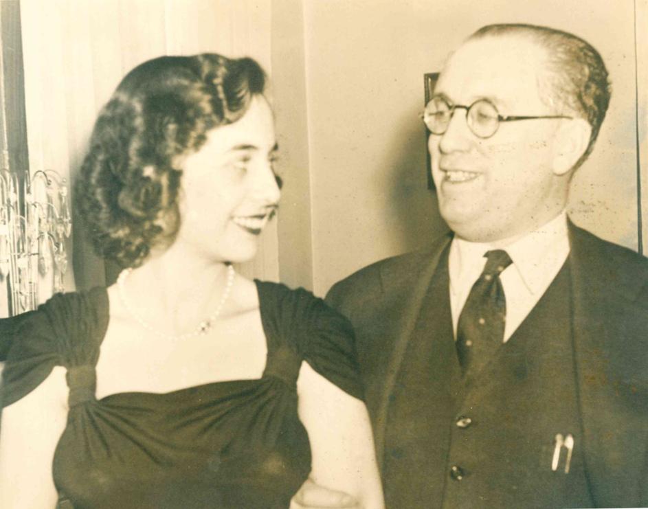 1950, con Felipe Fenández Armesto