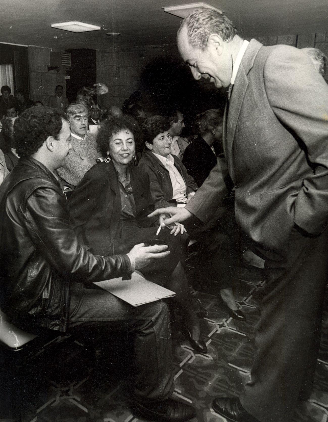 1986 - Congreso de Coalición Galega - Material cedido por El Correo Gallego.