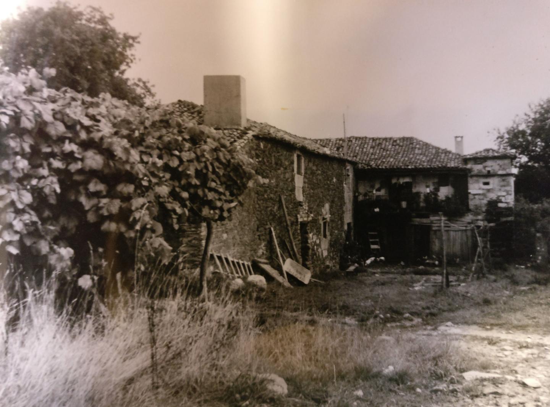 La casa antes de la restauración