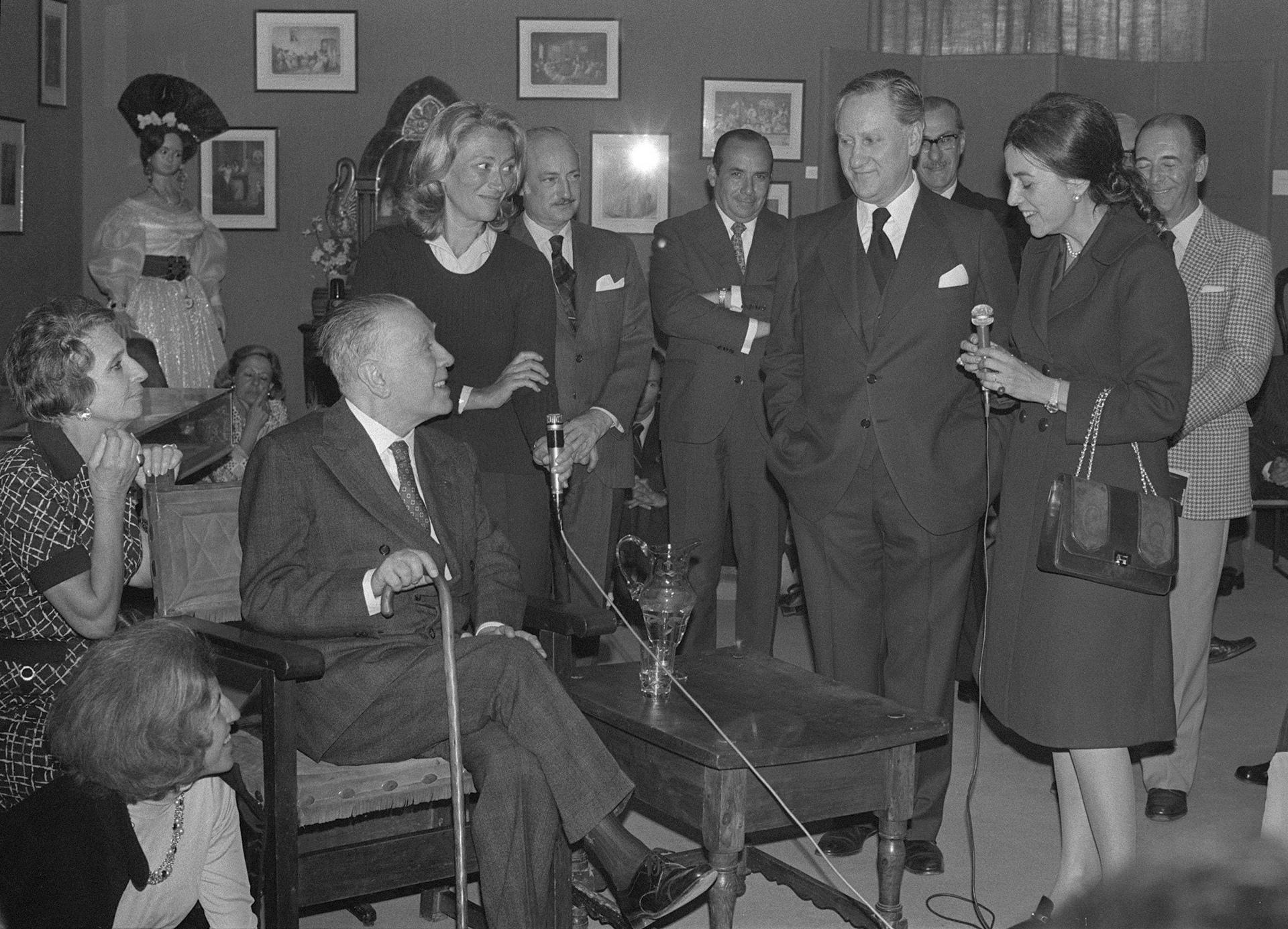 1973, Coloquio en Madrid con José Luis Borges